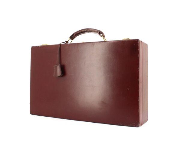 Une splendide valise vintage à bijoux Hermès chez Collector Square