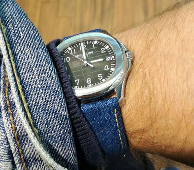 Un bracelet en denim chez ABP