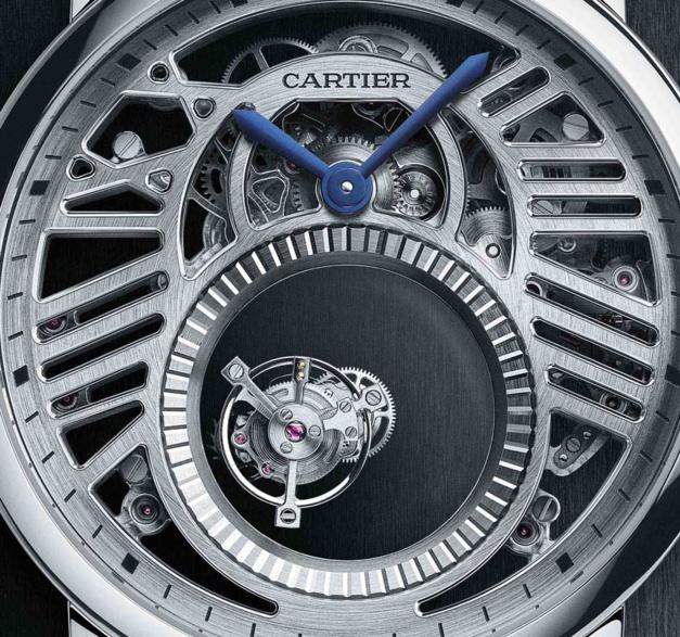 Cartier Rotonde Double Tourbillon Mystérieux Squelette