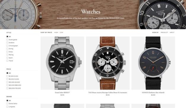 Hodinkee se lance dans la vente en ligne de montres de luxe neuves