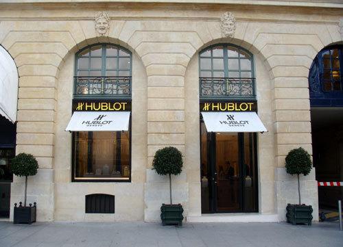 Hublot s'installe Place Vendôme à Paris