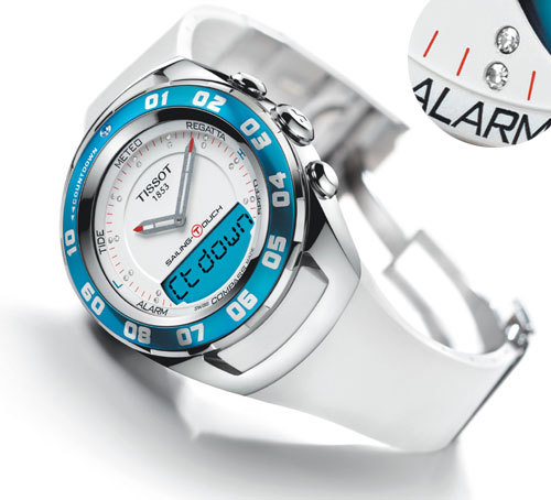 Tissot Sailing Touch Lady : la technologie tactile en vogue
