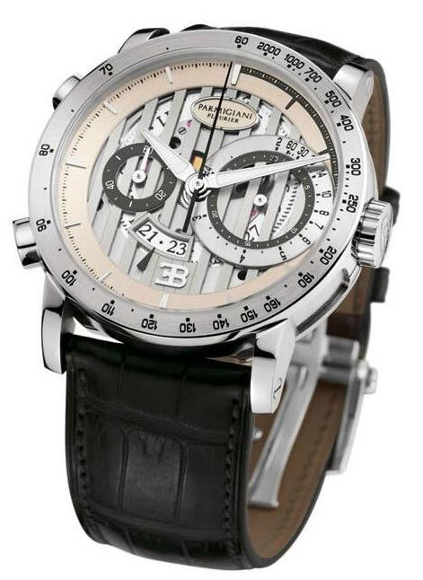Parmigiani Fleurier présente la Bugatti Atalante Chronographe Flyback