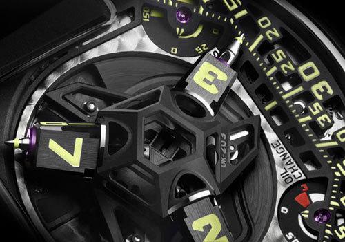 Urwerk UR-203 : l'heure robotique