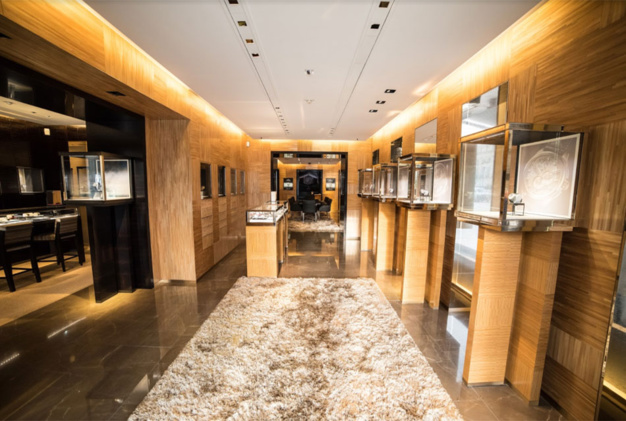 Zenith : une boutique éphémère mais très classe place Vendôme