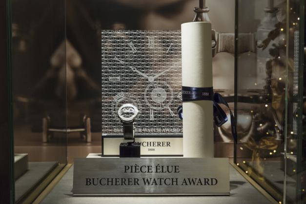 Bucherer Watch Award 2017 : le prix revient à la Neo Bridges de Girard-Perregaux