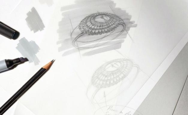 Cartier : dans les coulisses du studio de la création horlogère