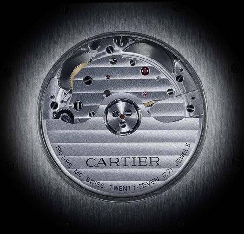 Calibre de Cartier Photos : Franck Dieleman © Cartier 2009