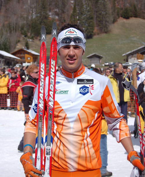 J.O. de Vancouver : Jaeger-LeCoultre soutient le skieur français Cyril Miranda