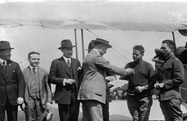 Hamilton : cent ans de chronométrage aérien