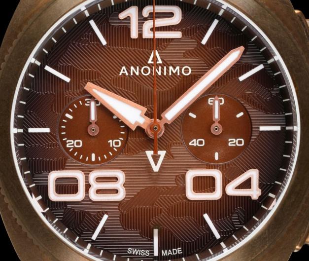 """Anonimo Militare Alpini : bronze et """"camo"""""""