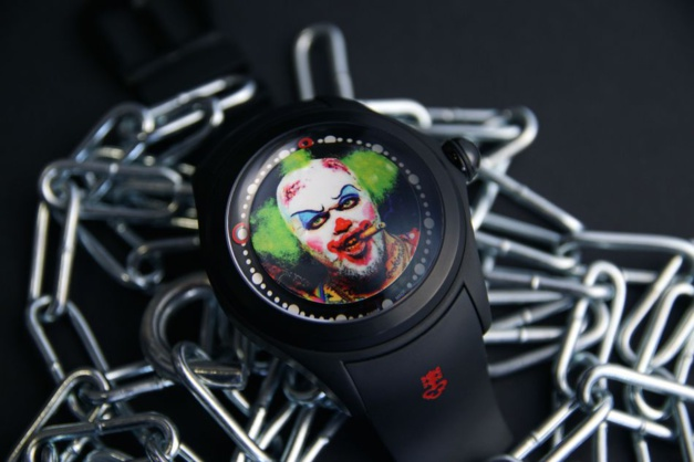Corum Bubble Clown by Matt Barnes : l'heure de se faire peur