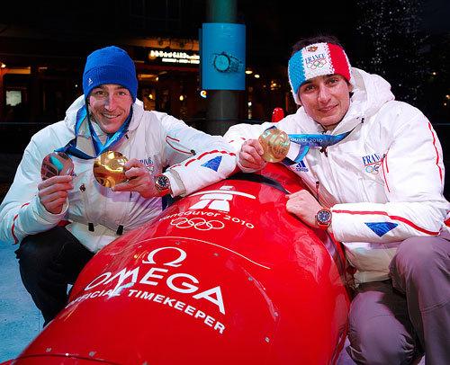 Deux Omega Seamaster Planet Ocean pour deux médaillés d'or français