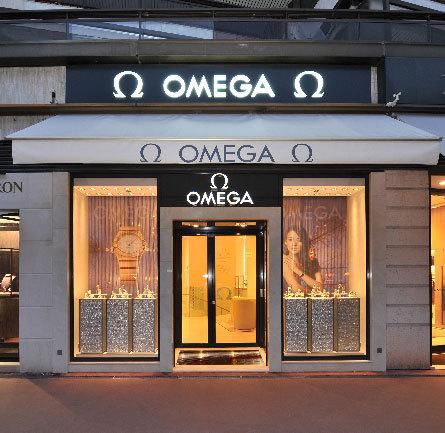 Omega ouvre une nouvelle boutique à Cannes, sur la Croisette
