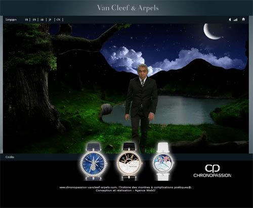 Quand Laurent Picciotto craque pour les créations horlogères de Van Cleef & Arpels