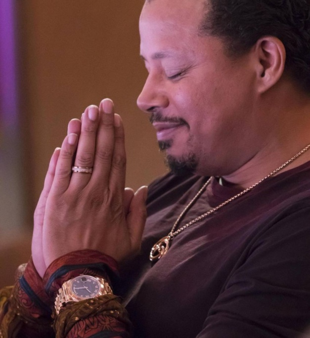 Empire : Terrence Howard porte une Rolex Daydate II en or jaune