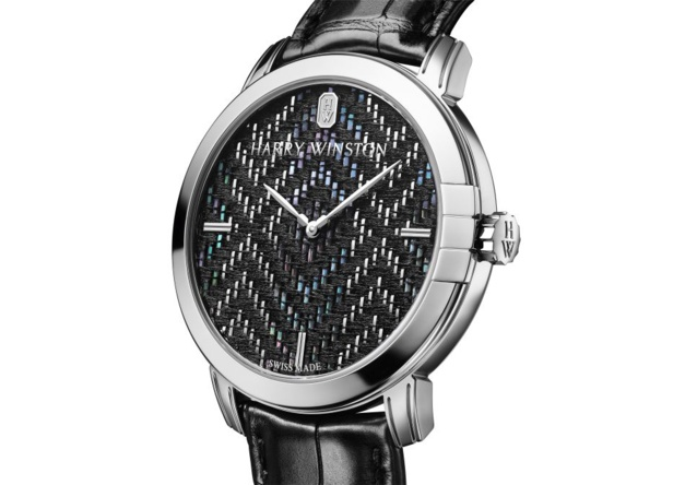 Harry Winston Midnight Precious Weaving Automatic 42 mm