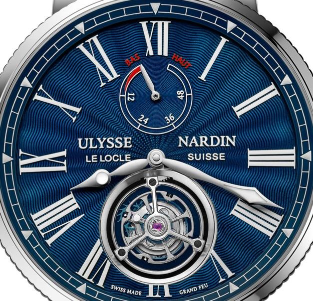 Ulysse Nardin Marine Tourbillon : un tourbillon sportif en acier à moins de 30.000 euros