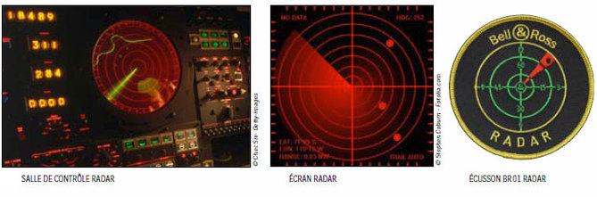 Bell & Ross BR01 Radar : cadran et aiguilles sur un même plan… pour une autre façon de lire l'heure