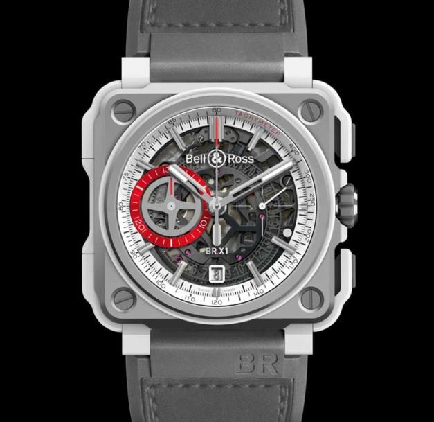 Bell & Ross BR-X1 White Hawk : chrono squelette très aérien