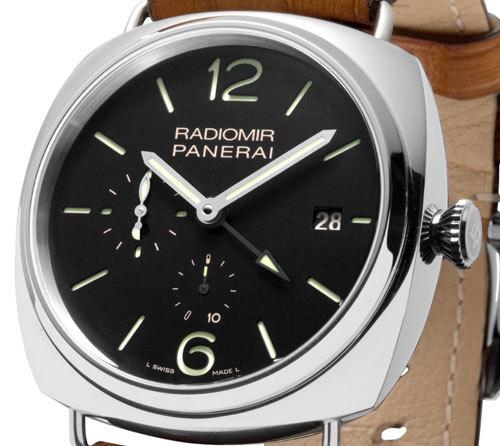 Officine Panerai : Radiomir 10 Days 47 mm : deux fuseaux horaires et un mouvement manufacture