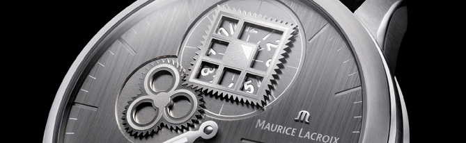 Maurice Lacroix Masterpiece Régulateur Roue Carrée