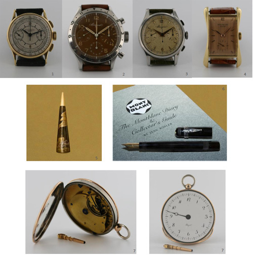 Dens&Co : vente de montres de collection le 26 avril 2010 à Drouot