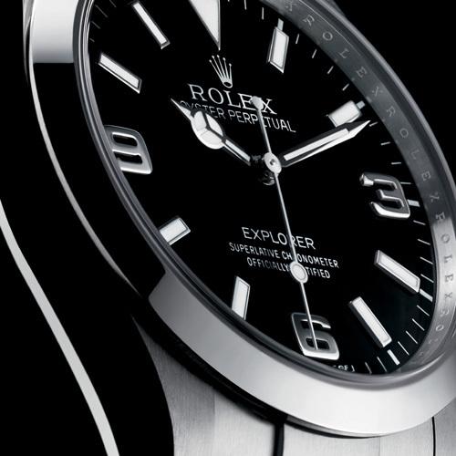 La Rolex  Explorer 36 mm devient la Rolex Explorer 39 mm… : à chacun son sommet
