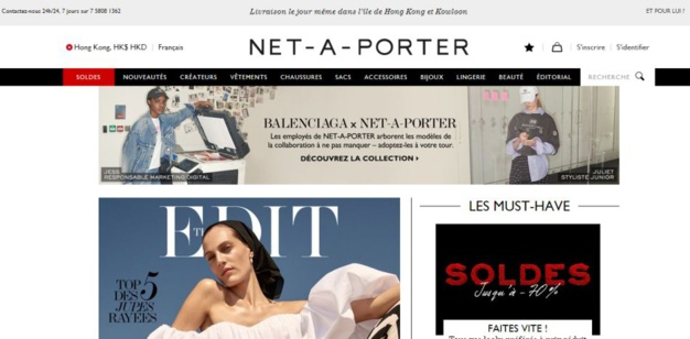 Richemont renforce sa participation au capital de Yoox et Net-a-Porter