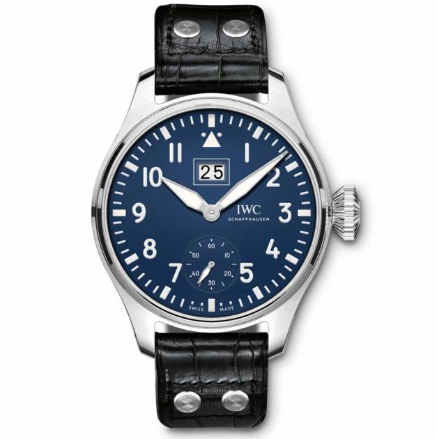 IWC : une montre d'Aviateur avec grande date et cadran laqué