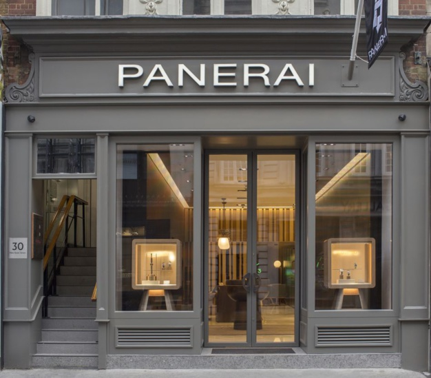 Londres : Panerai s'installe sur Old Bond street