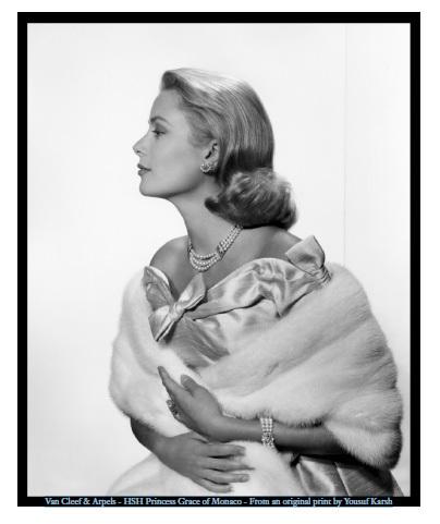 Van Cleef & Arpels : parrain de l'exposition Grace Kelly : Style Icon au Victoria et Albert Museum de Londres