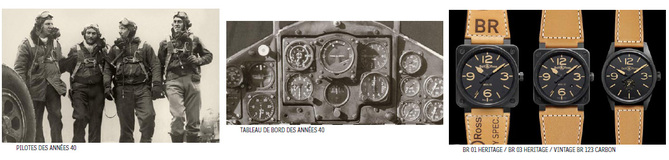 Bell & Ross : une nouvelle collection Vintage qui s'inspire des années 40
