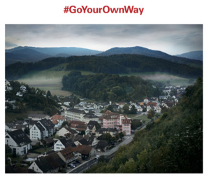 Oris suit son chemin avec son nouveau slogan : Go your own way