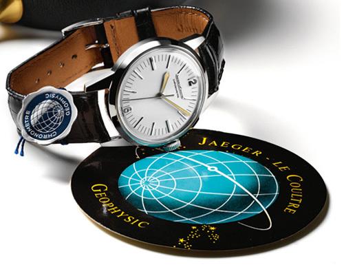 Jaeger-LeCoultre : 12.600 livres sterling au profit de l'Unesco pour son Chronomètre Geophysic de 1958