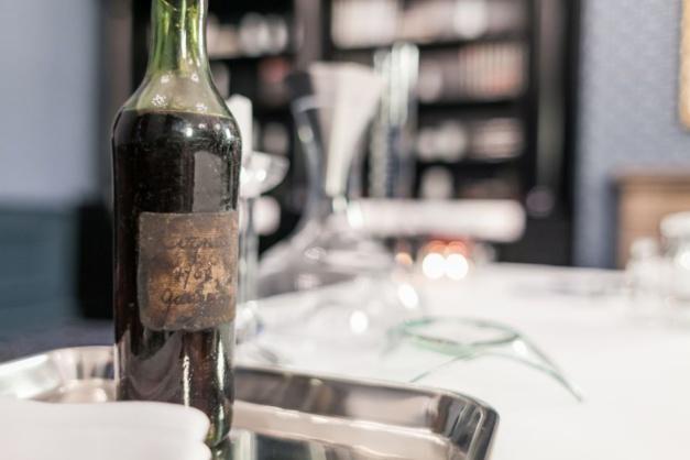 La bouteille de cognac la plus chère jamais vendue aux enchères