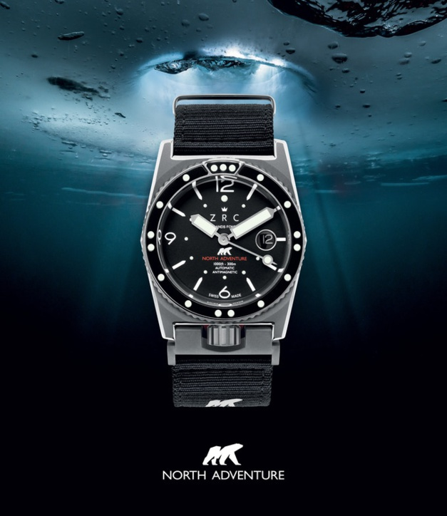 "ZRC North Adventure : version ""tool watch"" pour le grand nord"