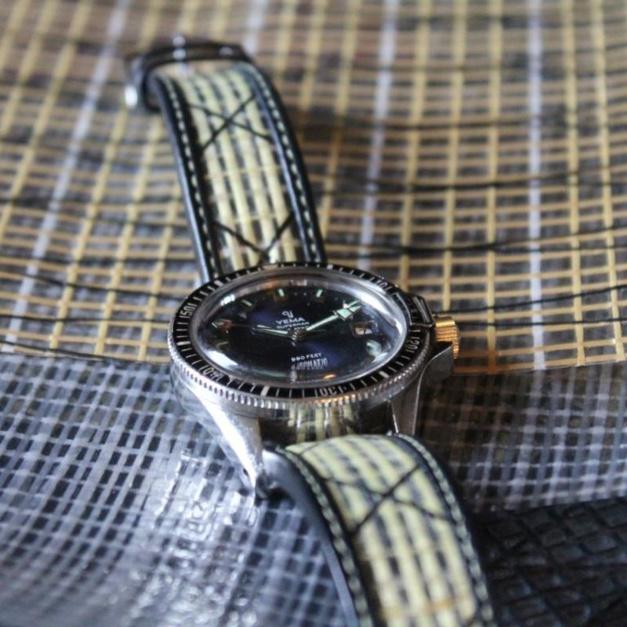 La Rochelle : le bracelet-montre en toile de voile d'Avel & Men