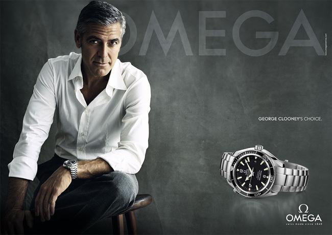 George Clooney's Choice : nouvelle campagne de publicité Omega avec George Clooney