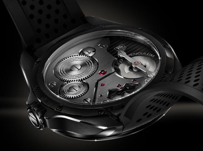 TAG Heuer Pendulum Concept : un mouvement mécanique sans spiral…