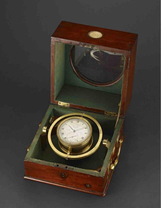 Un chronomètre de marine parmi les 100 objets qui ont marqué l'évolution du monde