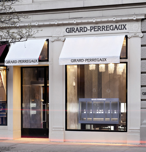 Girard-Perregaux s'installe sur Madison Avenue à New-York