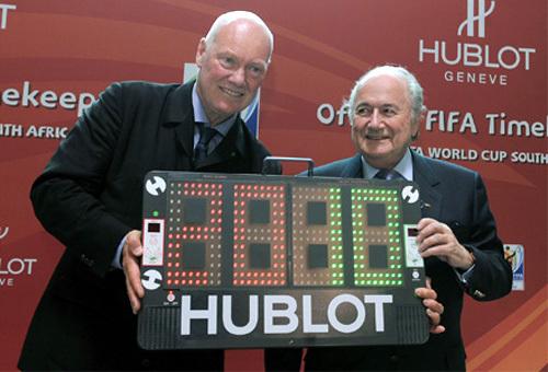 Hublot : montre officielle de la Fifa et chronométreur officiel de la Coupe du Monde de Football