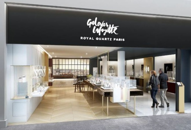 Royal Quartz devient Galeries Lafayette Royal Quartz