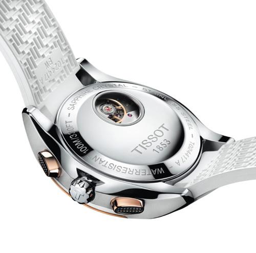Tissot Veloci-T Lady : une montre inspirée par la vitesse