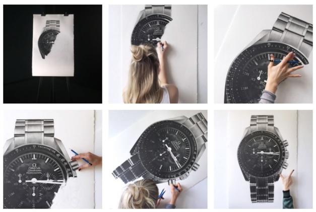 Julie Kraulis : une artiste très horlogère