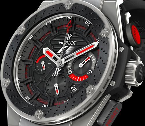 Shanghai : Hublot présente la F1 King Power, la montre officielle de la Formule 1