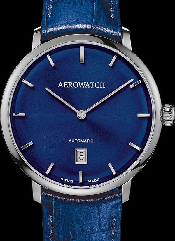 Aerowatch Héritage Slim : l'essentiel en deux aiguilles-date