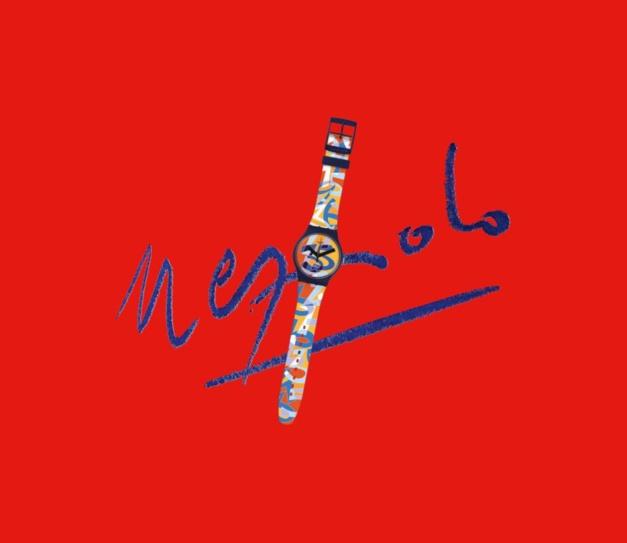 """Une Swatch Ugo Nespolo pour les 35 ans de la """"seconde montre"""""""
