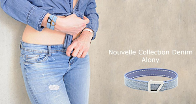 Alony : lancement d'un bracelet en denim
